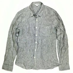 Standard James Perse Mens Long Sleeve Button Down